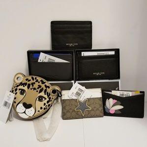 ♥️COACH Michael Kors Kate Spade etc Wallets Bundle